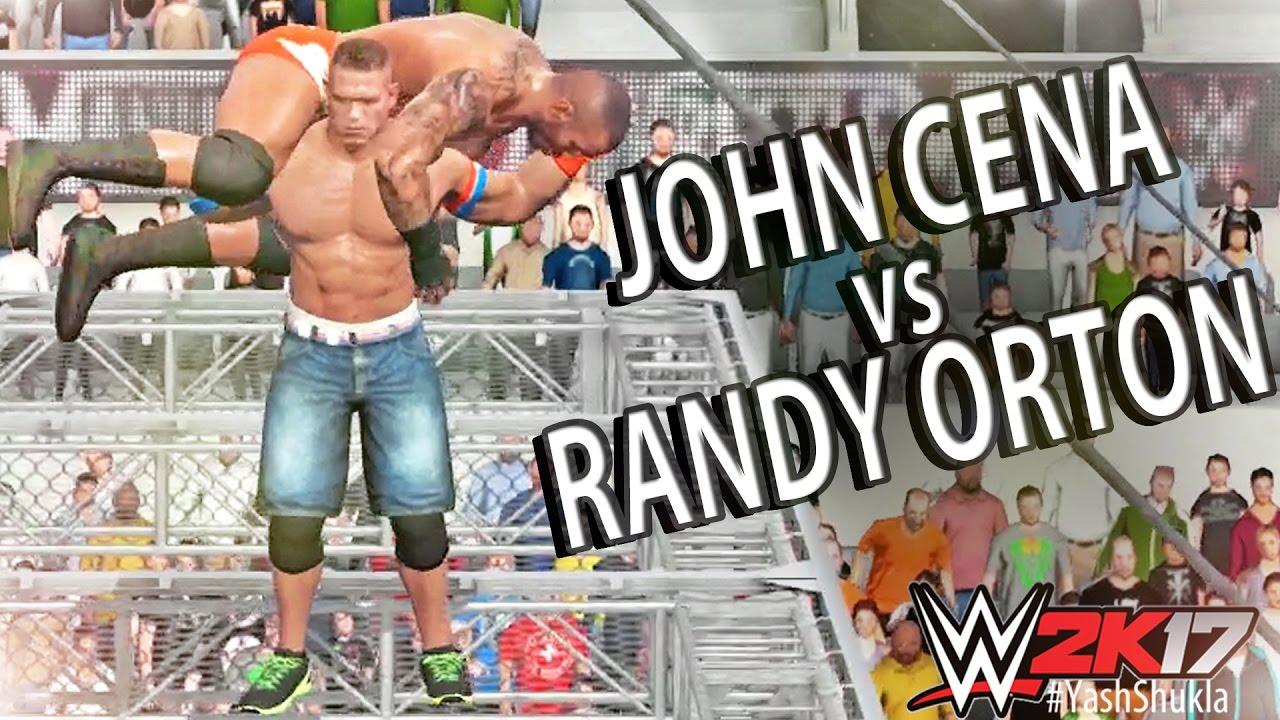 WWE 2K17 John Cena Vs Randy Orton