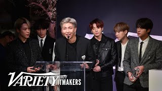 BTS Says New Music Coming Soon - Full Hitmakers Speech