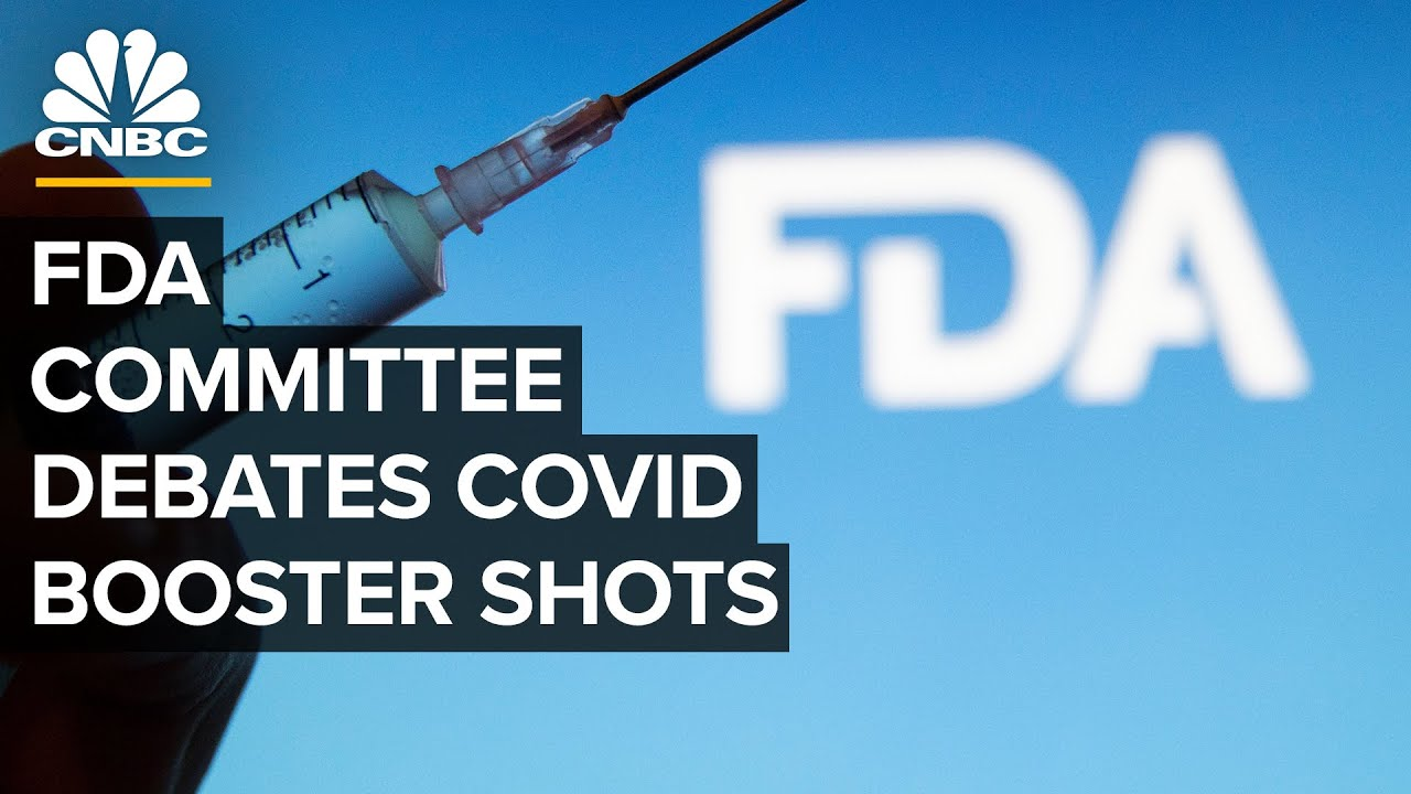 FDA committee meets to debate and vote on Covid booster shots for the general public  91721