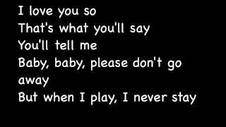 Runaway baby Bruno Mars Lyrics