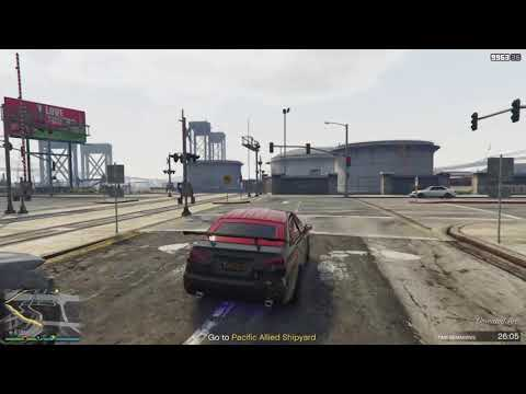 GTA V: Online - MC Club House Mission - Cracred #2 (Pacific Allied Shipyard)
