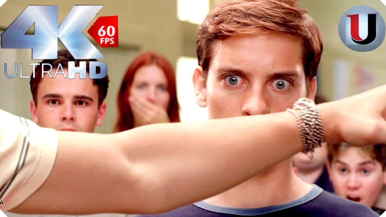 Download Spider Man 2002 - Peter Parker vs Flash - MOVIE CLIP (4K HD)