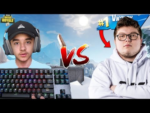 14 Year Old 1v1's Ghost Aydan In A Scrim Match And He Rages   Best Controller Player in Fortnite!