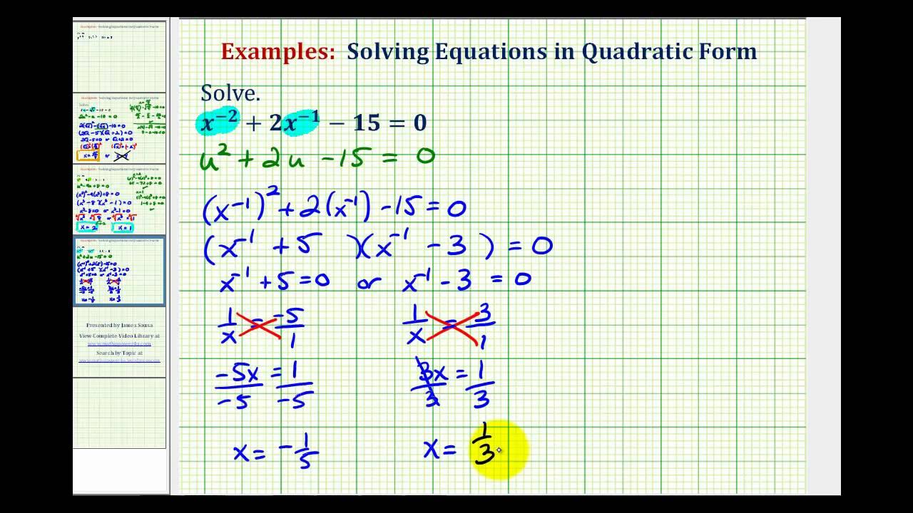maxresdefault Quadratic Form Example on function table, equation factor, equations factoring, formula algebra 2, equations business, formula 1 solutions, formula steps, formula 2 solutions, trinomial equations, vertex form,