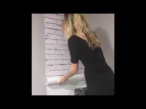 Print4One Removable Wallpaper Installation Demonstration