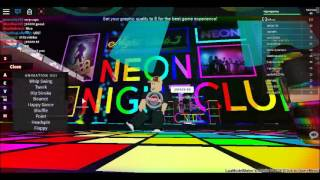 Dance party boys:roblox gameplay