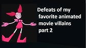 Defeats of My Favorite Cartoon Villains Part 4 (4,000