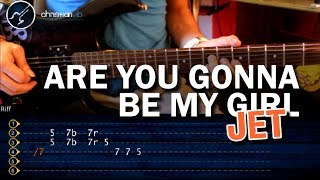 "Cómo tocar ""Are You Gonna Be My Girl"" de Jet en Guitarra (HD) Tutorial - Christianvib"