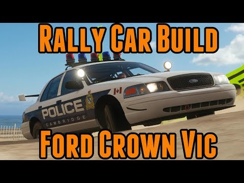 Forza Horizon 4 - Rally Car Build - Ford Crown Vic thumbnail