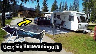 Karawaning w praktyce !!! - Odkryłem Schowek na Dzieci. / *w przyczepie kempingowej (Vlog #276)