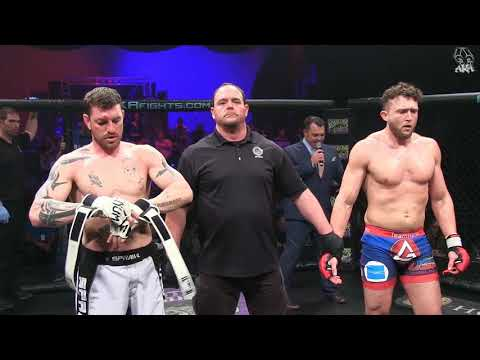 American Kombat Alliance Right of Passage 3  Quentin Henry vs Marcus Andrusia