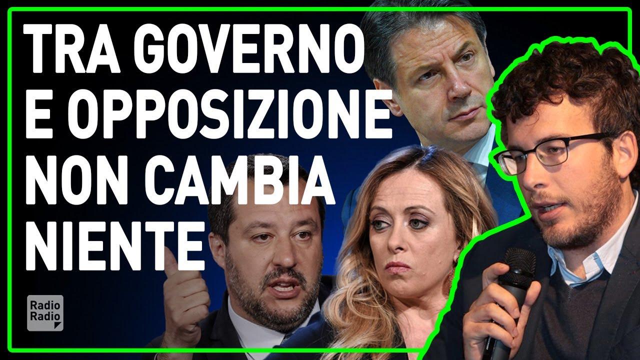 IL DRAMMA ITALIANO: OLTRE A UN GOVERNO DI DILETTANTI ANCHE UN'OPPOSIZIONE CHE NON ESISTE - Fusaro