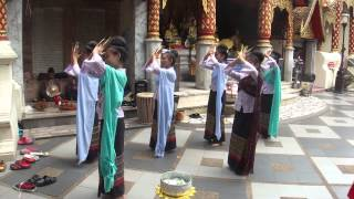 THAI TRADITIONAL NAIL DANCING IN CHAING MAI 02