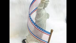 De Luze Grand Cognac The Statue Of Liberty 100th - Rượu Xách Tay Cognac