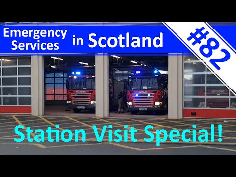 Fire Station Special! - McDonald Road Station - Ep.82 - Emergency Services in Scotland