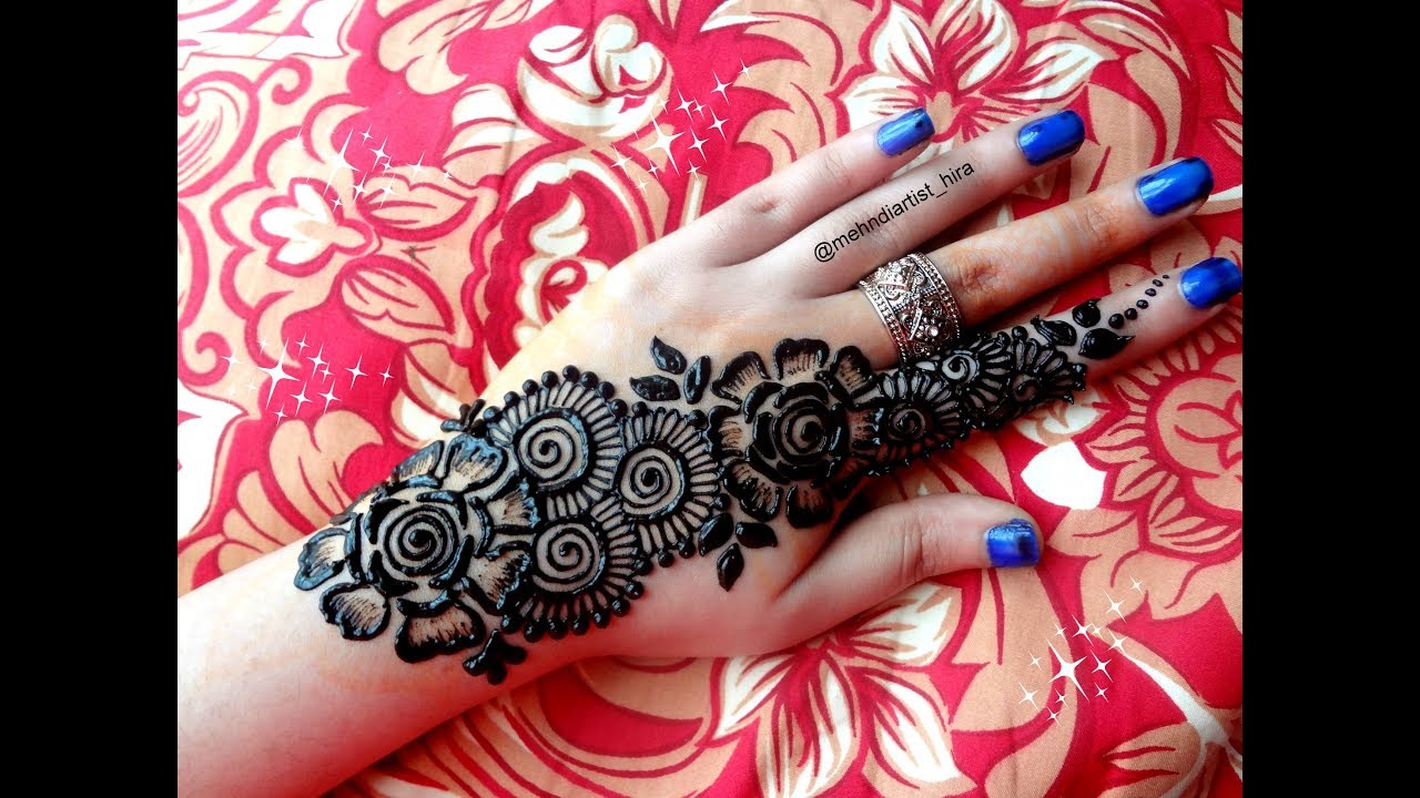 Latest simple strip bail eid special henna mehndi designs for hands latest simple strip bail eid special henna mehndi designs for hands tutorial altavistaventures Image collections