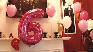 День рождения Ани, 6 лет