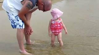 Natalie at the beach