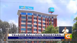 Telkom Kenya sign deal for balloon boosters