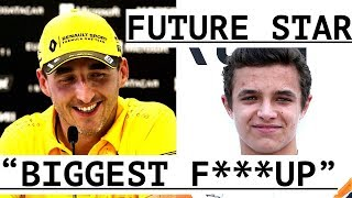 "Kubica ""biggest F****up In F1 Car"" - Lando Norris ""star Of The Future"" - Paul Di Resta In 2018?"
