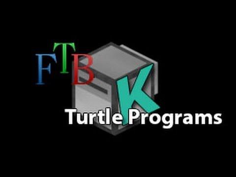 FTB Turtle Programming - First Draft Of The 3x3 Branch Mine Program
