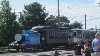 Our Day Out With Thomas The Tank Engine ~ Train Ride!