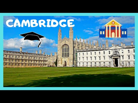 A walking tour of HISTORIC CAMBRIDGE (England)