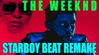 The Weeknd starboy feat Daft Punk Instrumental Beat Remake
