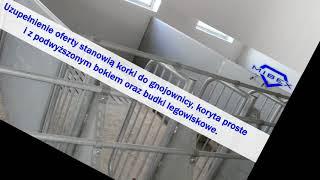 Wyposażenie budynków inwentarskich  ruszta betonowe dla trzody Borszewice Cmentarne Mibex