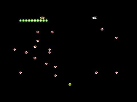 Minipede - Atari game for NOMAM BASIC 10Liners Contest 2017