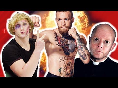 Wenn sich wahnsinnige YouTuber verprügeln lassen wollen... & die Kirche einfach widerlich ist...