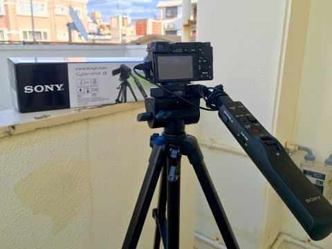 The Best Fluid Head Tripod for the Sony A6000