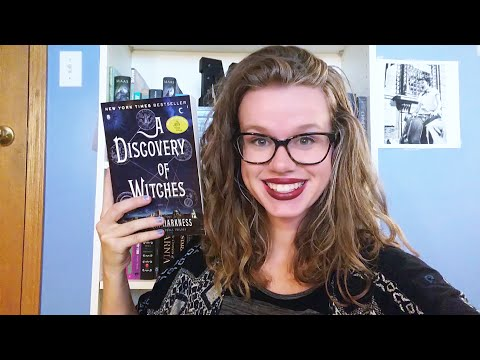 A DISCOVERY OF WITCHES BY DEBORAH HARKNESS || Book Chat || WRECKEDMYEYESREADING