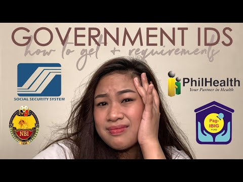 How To Get Government Ids + Requirements