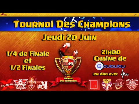 Tournoi des Champions | Les Meilleurs Clans FR s'affrontent | Qualification de Juin - Jour 1