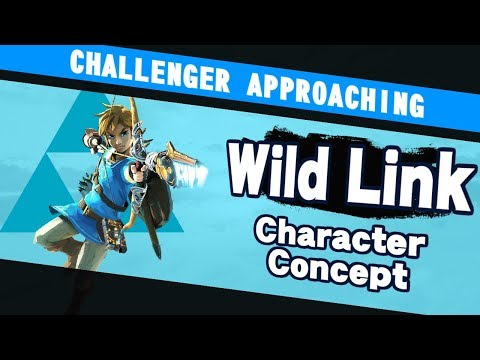 Challenger Approaching #14: Wild Link Character Concept