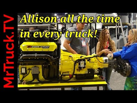 Allison transmissions for all, Ford, Ram, GM. Is 2020 GM Allison real?