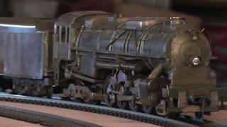 Very Rare Handmade HandBuilt HO Brass Winton Engineering C&O 2-8-4 K-4 Berkshire