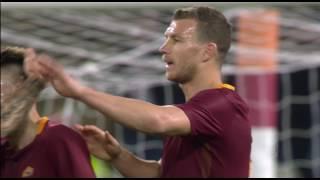 Il gol di Dzeko - Roma - Sassuolo - 3-1 - Giornata 29 - Serie A TIM 2016/17