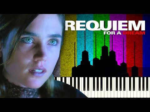 Requiem For A Dream - Lux Aeterna - Piano Tutorial