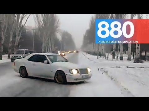 Car Crash Compilation 880 - March 2017