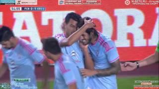 Gol de Joaquín Larrivey al Barcelona