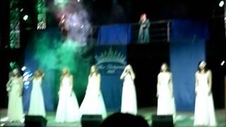 видео: Дефиле в свадебном платье. #Мисс университет 2015