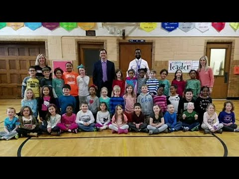 WDIV Local 4's Brandon Roux visits Mason Elementary in Grosse Pointe Woods