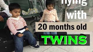 Flying with Toddlers | Travel with Kids on Plane | What to Pack in Bag Video