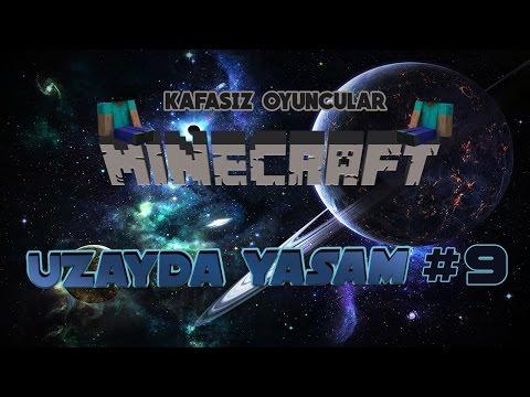 Canavarlarla Savaşıyoruz!! - Uzayda Yaşam Minecraft #9