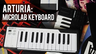 ARTURIA Microlab | Ultra PORTABLE Midi Keyboard