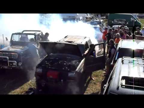 Blowing up the engine of a Jeep Grand Cherokee