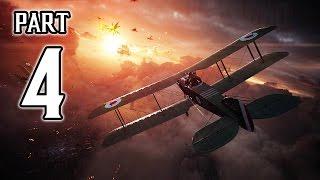 Battlefield 1 Walkthrough PART 4 Gameplay No Commentary @ 1080p (60ᶠᵖˢ) HD ✔