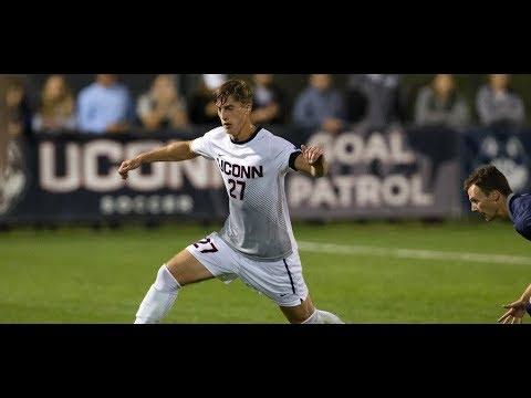 2017 Men's Soccer Highlights - UConn 1, Tulsa 0